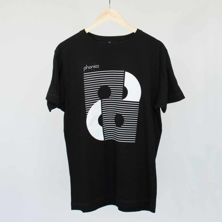 Phonica Twin Black Tshirt